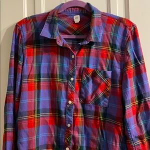 Gorgeous Gap flannel!